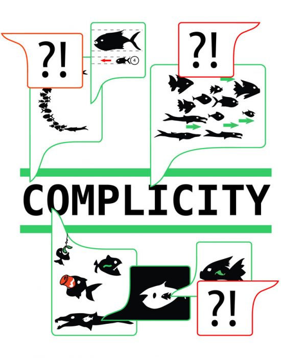 public talks complicity